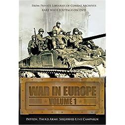 War in Europe, Vol. 1