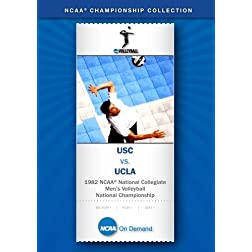 1982 NCAA National Collegiate Men's Volleyball National Championship - USC vs. UCLA