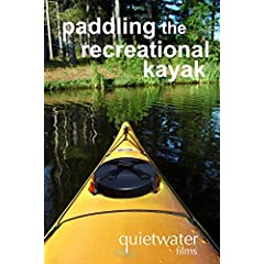 paddling the recreational kayak