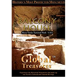 Global Treasures  Balcony House Colorado
