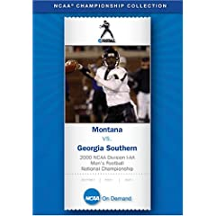2000 NCAA Division I-AA Men's Football National Championship - Montana vs. Georgia Southern