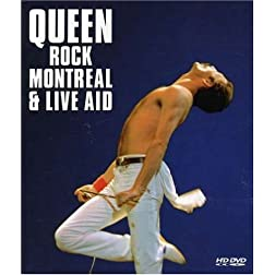 Queen: Rock Montreal & Live Aid [HD DVD]