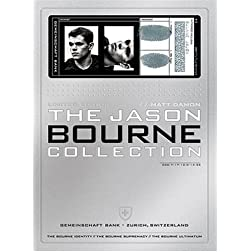 The Jason Bourne Collection (The Bourne Identity / The Bourne Supremacy / The Bourne Ultimatum)