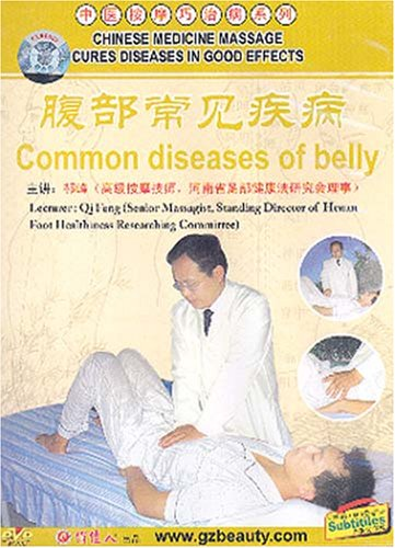 Chinese Medicine Massage Cures Diseases in Good Effects: Common Diseases of Belly