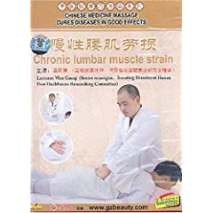 Chinese Medicine Massage Cures Diseases in Good Effects: Chronic Lumbar Muscle Strain