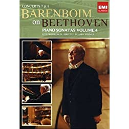Daniel Barenboim: Beethoven Sonatas- Concerts 7 & 8