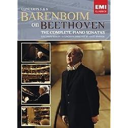 Daniel Barenboim: Beethoven - Sonatas Concertos 5 & 6