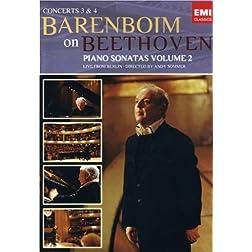 Daniel Barenboim: Beethoven - Sonatas Concertos 3 & 4