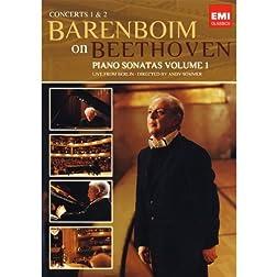 Daniel Barenboim: Beethoven - Sonatas Concerts 1 & 2