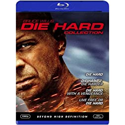 Die Hard Collection (Die Hard/ Die Hard 2 - Die Harder/ Die Hard with a Vengeance/ Live Free or Die Hard) [Blu-ray]