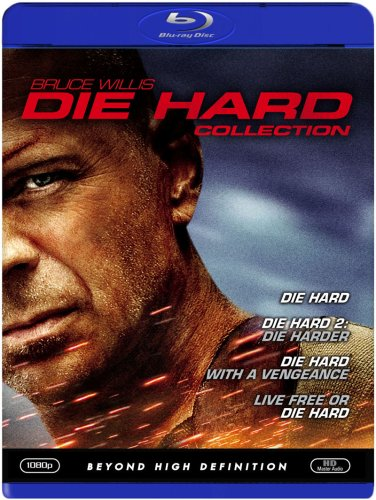 Die Hard Collection (Die Hard/ Die Hard 2 - Die Harder/ Die Hard with a Vengeance/ Live Free or Die Hard) [Blu-ray]