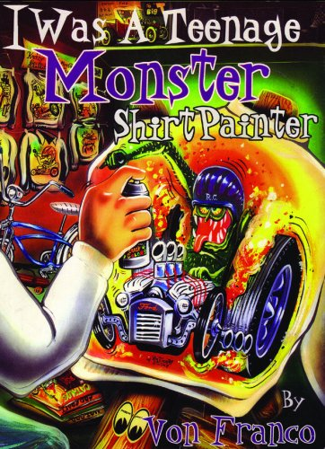 I Was A Teenage Monster Shirt Painter