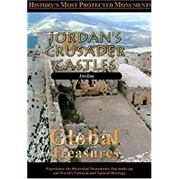 Global Treasures  JORDAN'S CRUSADER CASTLES