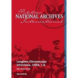 Longines Chronoscope Interviews, 1952, v.8: HENRY CABOT LODGE JR, JAMES MC DONALD, ROBERT S. KERR