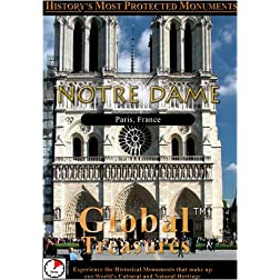 Global Treasures  NOTRE DAME Paris, France