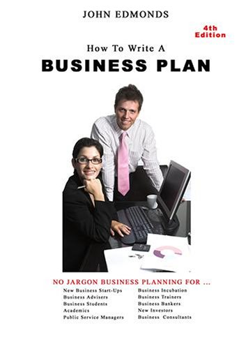 How To Write A Business Plan - 4th Edition PAL Version