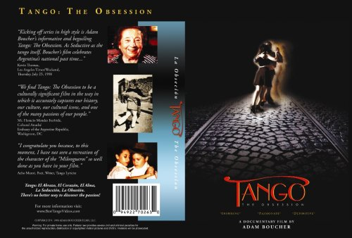 Tango The Obsession (Documentary DVD)