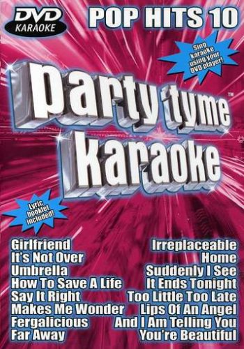 Party Tyme Karaokoe: DVD Pop Hits, Vol. 10