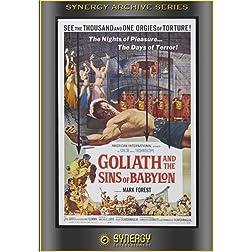 Goliath & The Sins Of Babylon (1963)