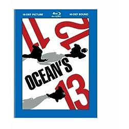 Ocean's Trilogy (Ocean's Eleven/ Ocean's Twelve/ Ocean's Thirteen) [Blu-Ray]