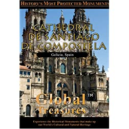 Global Treasures  CATHEDRAL OF SANTIAGO OF COMPOSTELA Spain