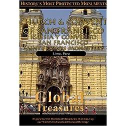 Global Treasures  CHURCH AND CONVENT OF SAN FRANCISCO Lima, Peru