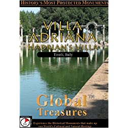 Global Treasures  VILLA ADRIANA Rome, Italy