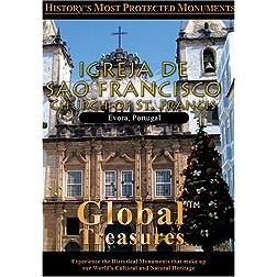 Global Treasures  CHURCH OF SAN FRANCISCO Porto, Portugal