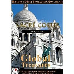 Global Treasures  SACRE COEUR Paris, France