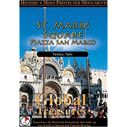Global Treasures  Saint Mark's Square Piazza San Marco Venice, Italy