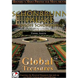 Global Treasures  SCHOeNBRUNN PALACE Schloss Schonbrunn Vienna Austria