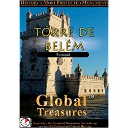 Global Treasures  TOWER OF BELEM Torre De Belem Lisbon, Portugal