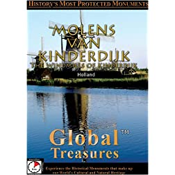 Global Treasures  MOLENS VAN KINDERDIJK Holland