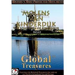 Global Treasures  MOLENS VAN KINDERDIJK Holland