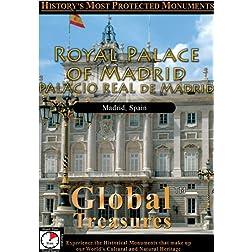Global Treasures  ROYAL PALACE OF MADRID Palacio Real De Madrid Madrid, Spain