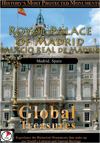 Global Treasures  ROYAL PALACE OF MADRID Palacio Real De Madrid Madrid, Spain
