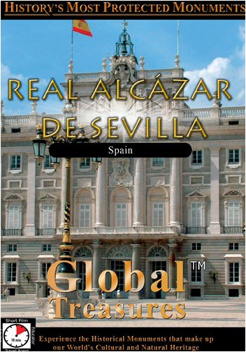 Global Treasures Seville Royal Fortress Real Palaces of Seville Reales Alcazares De Sevilla  Andaluc