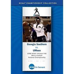 1998 NCAA Division I-AA Men's Football National Championship - Georgia Southern vs. UMass