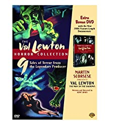 The Val Lewton Horror Collection with Martin Scorses Presents Val Lewton Documentary (Cat People / The Curse of the Cat People / I Walked with a Zombie ... / The Seventh Victim / Shadows in the Dark)