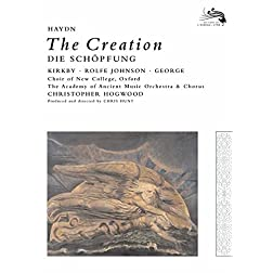 Joseph Haydn - The Creation / Kirkby, Rolfe Johnson, George, AAM, Hogwood