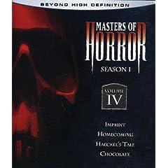 Masters of Horror: Season 1, Vol. 4 [Blu-ray]