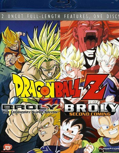 Dragon Ball Z - Broly The Legendary Super Saiyan / Broly the Second Coming) [Blu-ray]