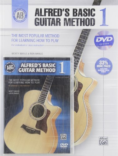 Alfred's Basic Guitar Method 1 (W/Book)