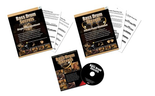 Bass Drum Secrets - 2 books - 1 DVD