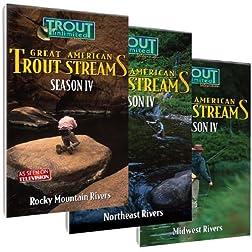 Great American Trout Streams Season 4 -3PK