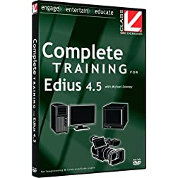 Class on Demand: Complete Training for Edius 4.5: Grass Valley Educational Training Tutorial DVD