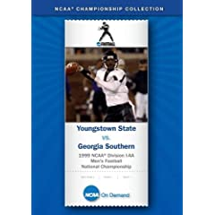 1999 NCAA Division I-AA Men's Football National Championship - Youngstown State vs. Georgia Southern