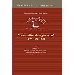 Conservative Management of Low Back Pain