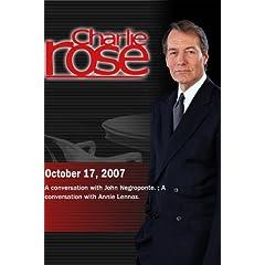 Charlie Rose (October 17, 2007)