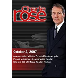 Charlie Rose (October 2, 2007)